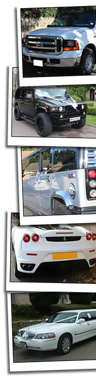 Limo Hire Oxford homepage graphic